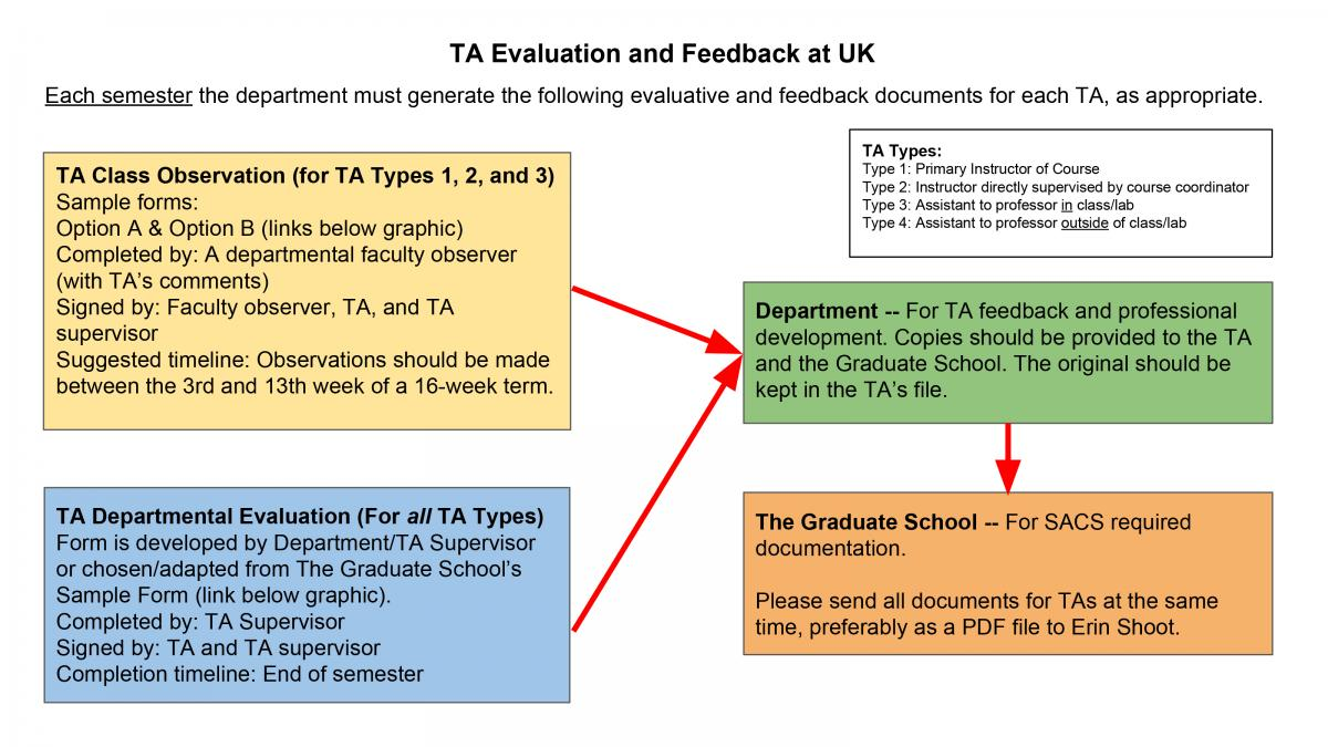 TA Supervision U0026 Feedback Overview. Two Sample Observation Forms ...