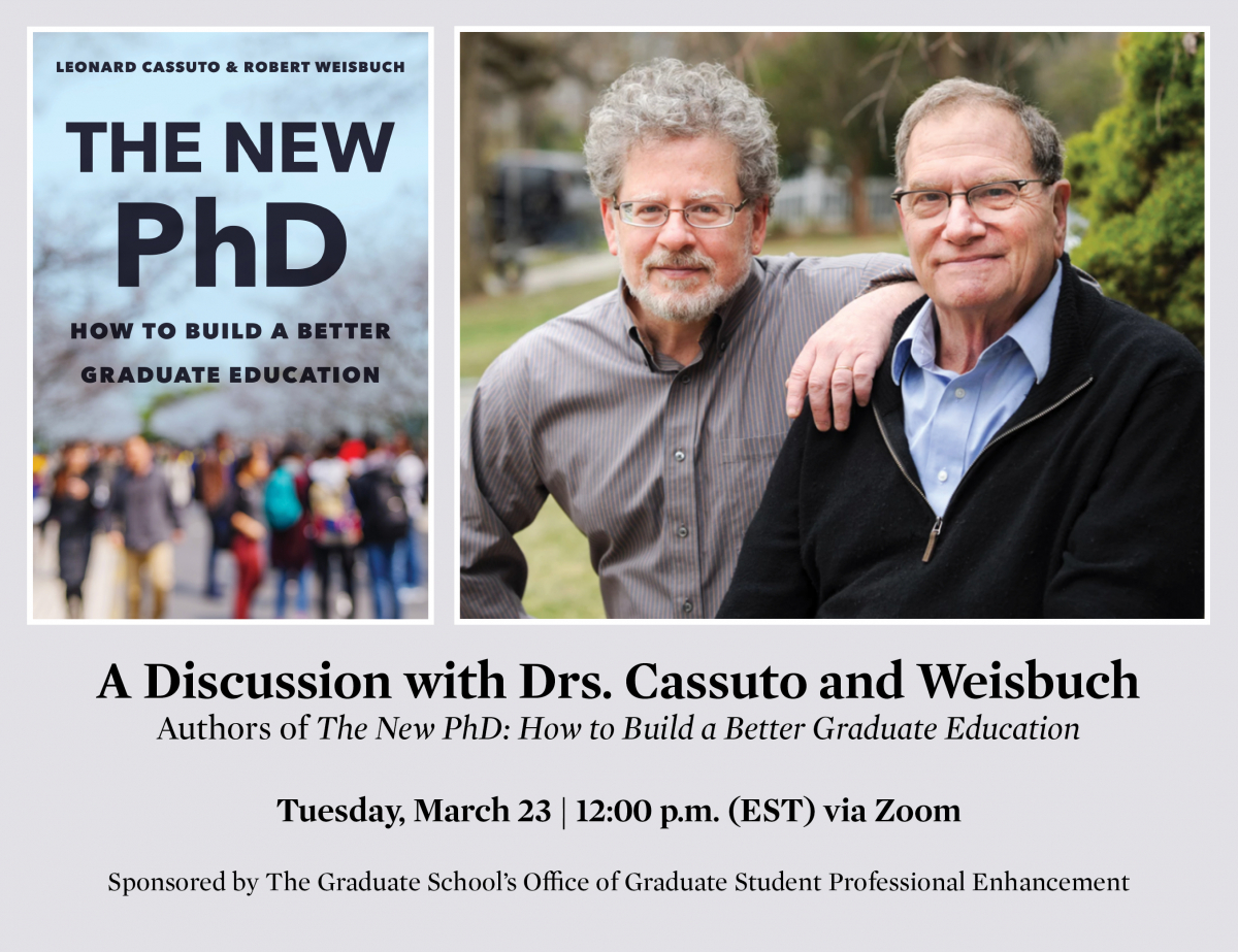 The New PhD: How to Build a Better Graduate Education